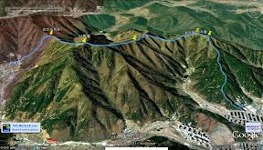 마산 광려산 상투봉 지존봉 침대봉 삼자봉 화개지맥 산행