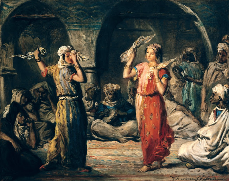 Théodore Chassériau - Dance of the Handkerchiefs