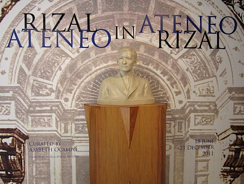 Rizal in Ateneo, Ateneo in Rizal exhibit at the Ateneo Art Gallery