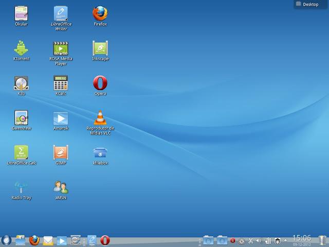 Rosa 2012.1 KDE