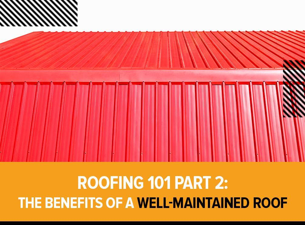 Well-Maintained Roof
