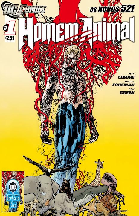 Homem Animal (Os Novos 52)