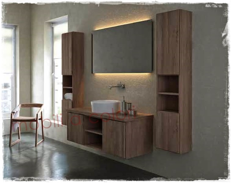 Nuova sezione mobili bagno design moderno su mobiliacolori