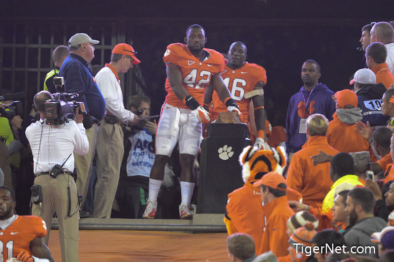 Clemson vs. South Carolina - Seniors on the Hill Photos - 2012, Corico Wright, Football, Seniors, South Carolina