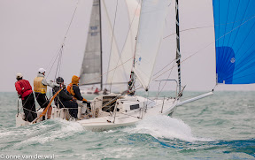 J80 sailing Key West Midwinters
