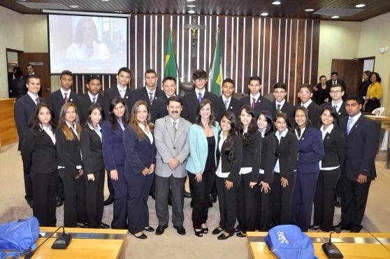 Natal: Assembleia Legislativa do RN empossa os 24 deputados eleitos do Parlamento Jovem