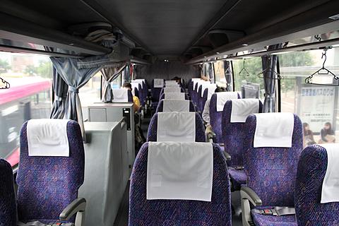 中国JRバス「ポートレイク」 島根・373 車内