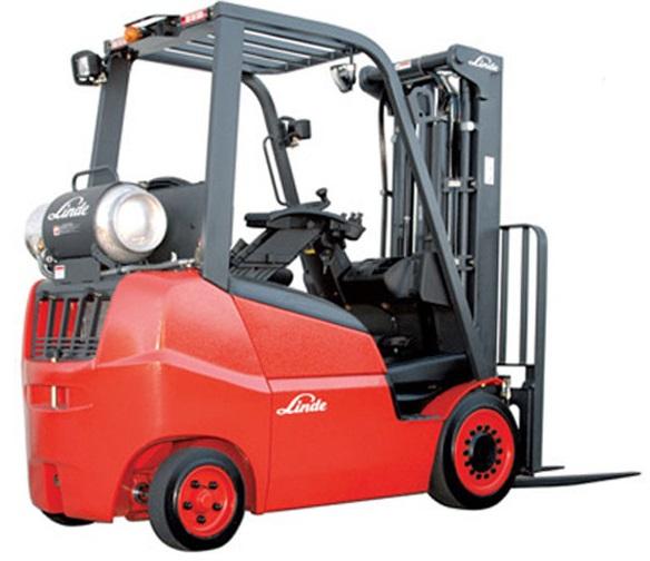 Xe nâng Linde Gasoline LPG Forklift