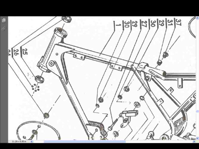 Cz Motorcycle Parts Manual For 125 250  U0026 400 980 4 981 1