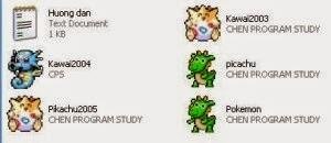 pikachu 2003, pikachu 2004, pikachu 2005