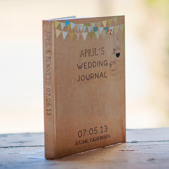 Mother to Daughter Wedding Gifts - Wedding Prep Scrapbook