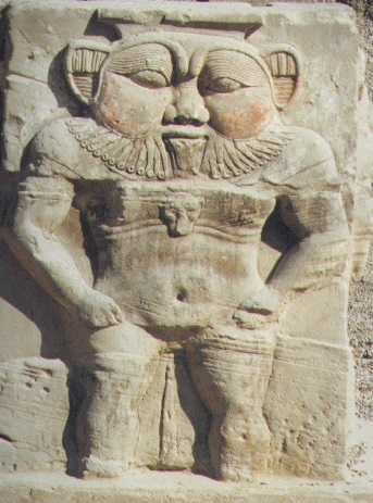 Bes the Dwarf-Lion God