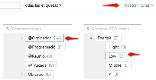 Jerarquia de tags amb selecció multiple