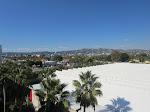 A beautiful view towards West LA