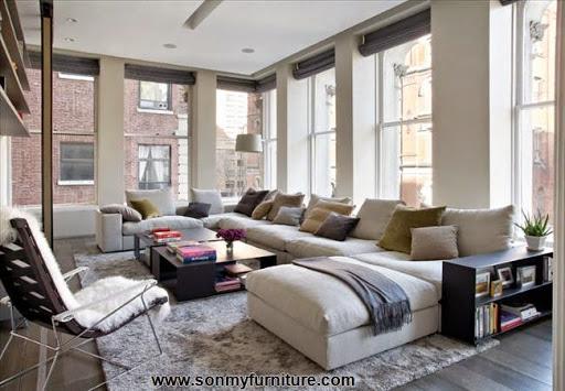 Những mẫu ghế sofa nhiều khối cho phòng khách thêm hiện đại_tin tức nội thất phòng khách-1