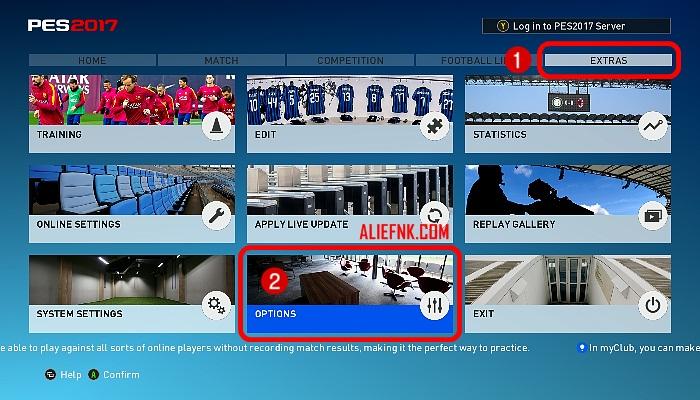Cara Memunculkan Kursor Nama Pemain di Atas Kepala 1-2 [image by ALIEFNK.COM]