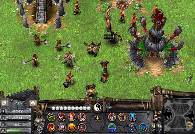 Huấn luyện quân lính trong Battle Realms