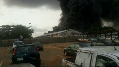 PHOTOS: Christ Embassy Church Oregun Branch Gutted By Fire 2