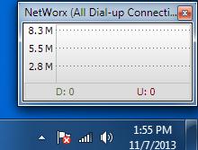 SoftPerfect Networx Screenshot 1