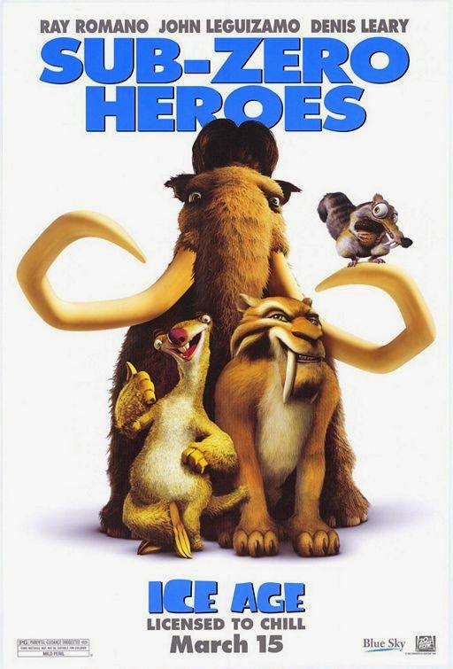 Poster Of Ice Age (2002) Full Movie Hindi Dubbed Free Download Watch Online At Alldownloads4u.Com