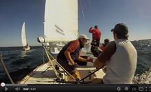 J/24 sailing training video from Australia