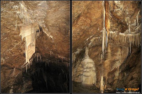 jaskinia niedźwiedzia - ciekawe nacieki