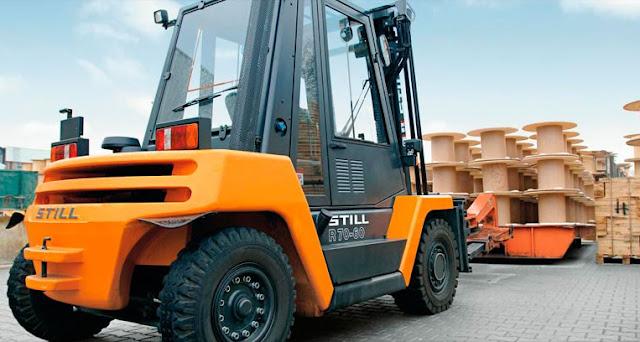 Xe nâng 6 - 7 tấn diesel
