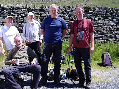 Glen Bridge, Tony Burton, Mike Rippon, Simon Woodrow & Alan Hudson