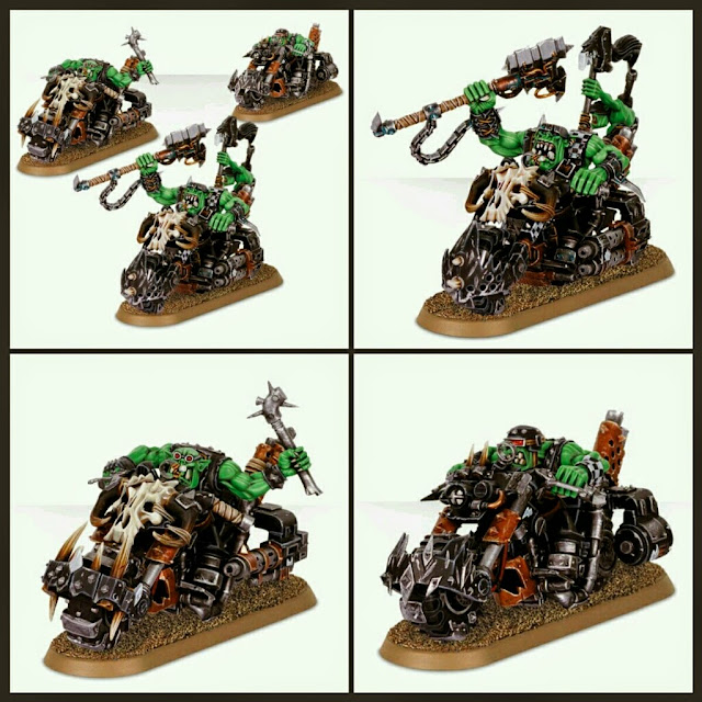 Motos Orcos Games Workshop