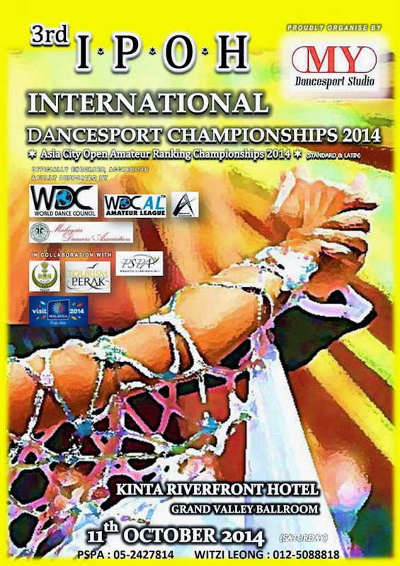 Announcement: 3rd Ipoh International Dancesport Championship