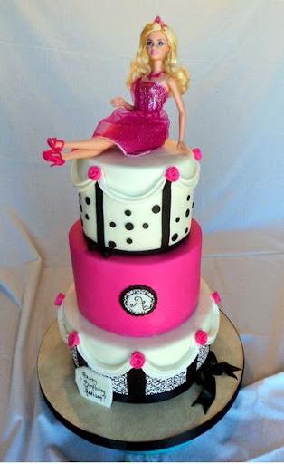 Barbie Birthday Cakes