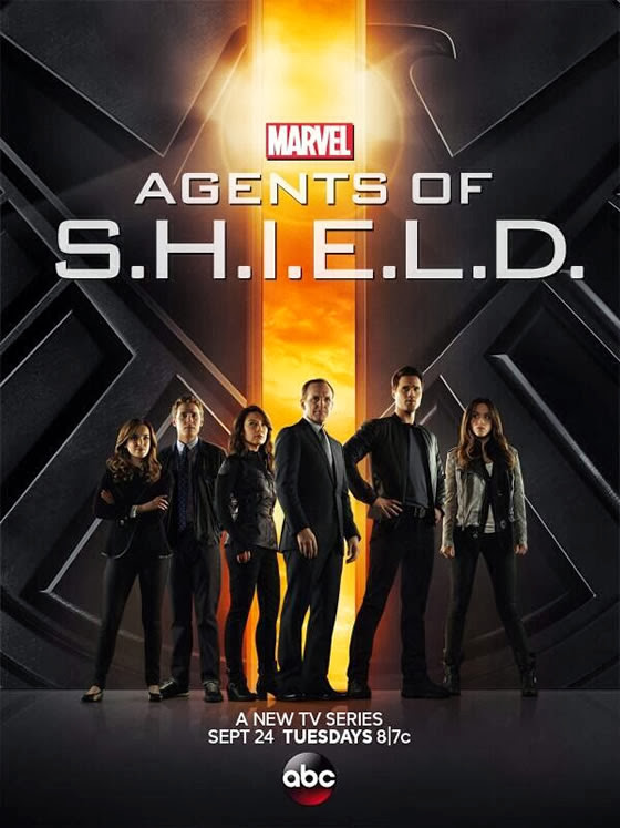 Poster Phim Đặc Vụ Shield - Marvels Agents Of Shield