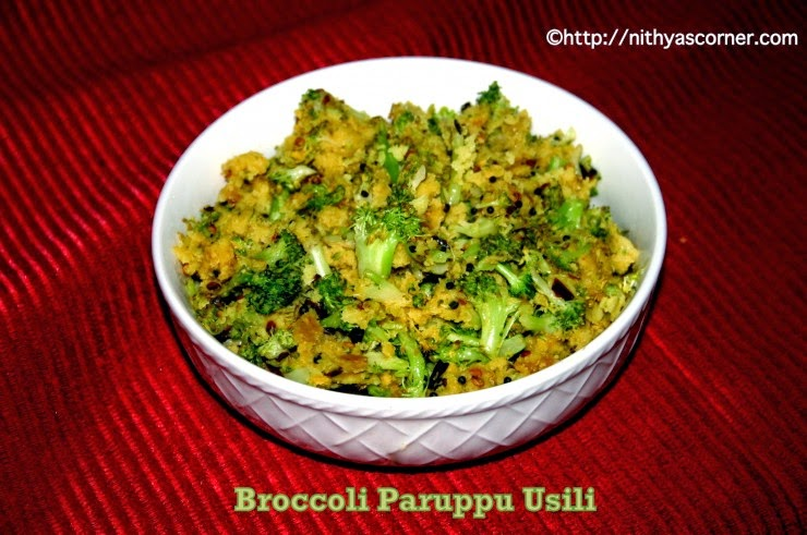 Broccoli Paruppu Usili
