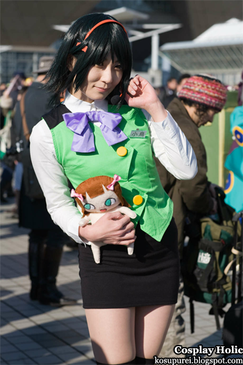 the idolmaster cosplay - otonashi kotori from comiket 79