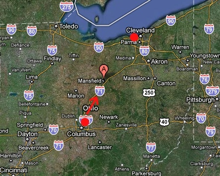 Phantoms And Monsters Pulse Of The Paranormal - The crew us map