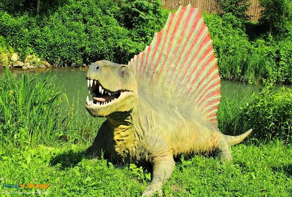bałtów jura park  - dimetrodon