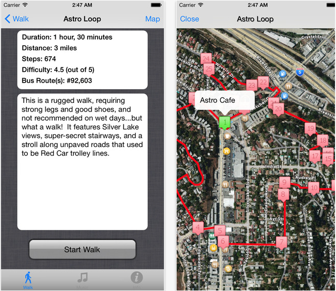 Secret Stairs Silver Lake App (11 Best Apps to Make Life Easier Living in LA).