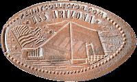 USS Arizona penny