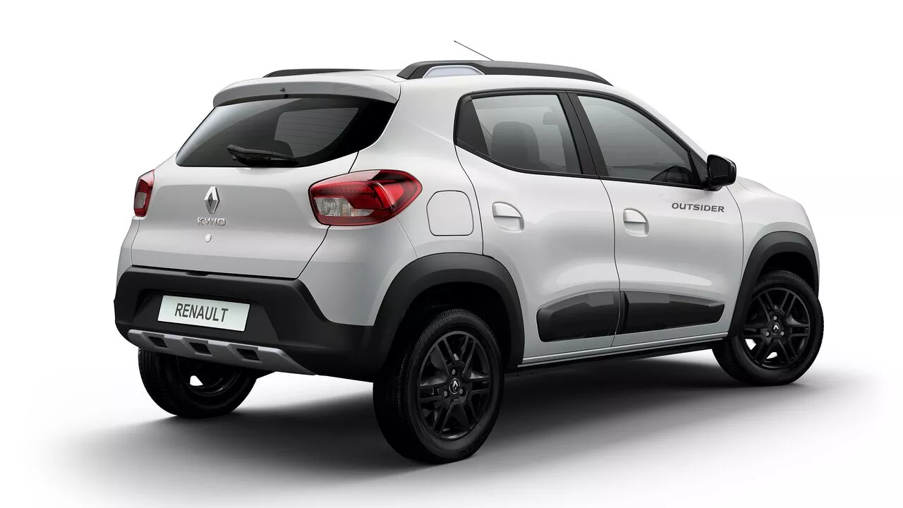 Kwid é o segundo carro não-híbrido mais econômico do Brasil, com consumo de 14,9 km/l na cidade e 15,6 km/l na estrada (Imagem: Renault/Divulgação)