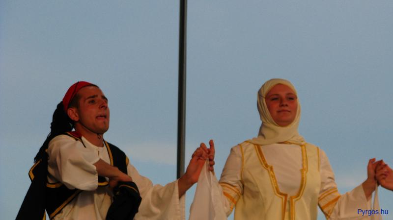 Görög táncosok.