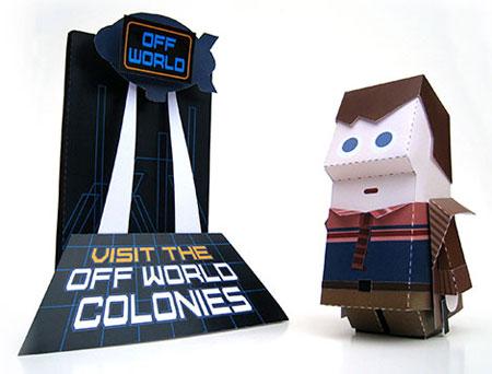 Blade Runner Paper Toy