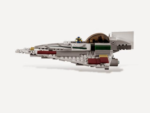7868 レゴ メイスウィンドゥのジェダイスターファイター
