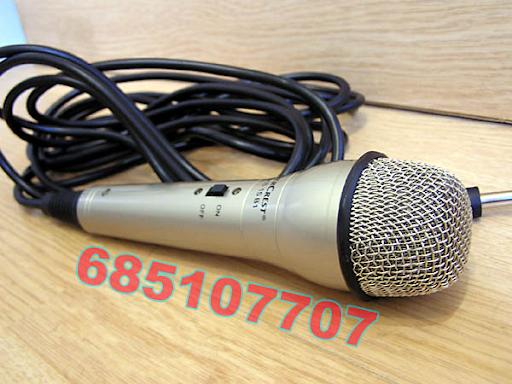 Microfono dinamico ideal para karaoke