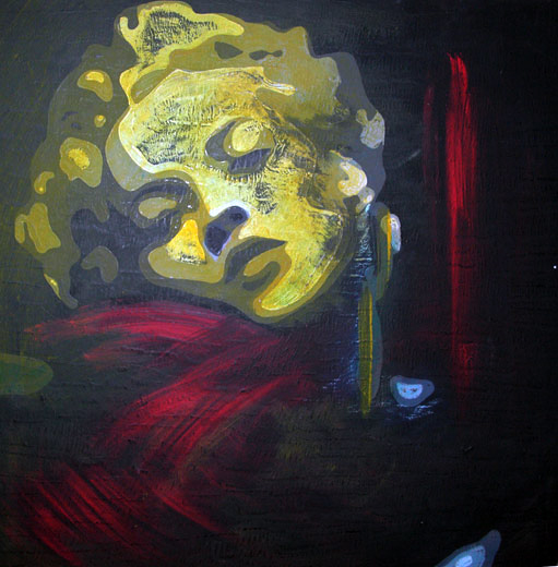 marilyn monroe lookalike painting by Izabela Wojcik