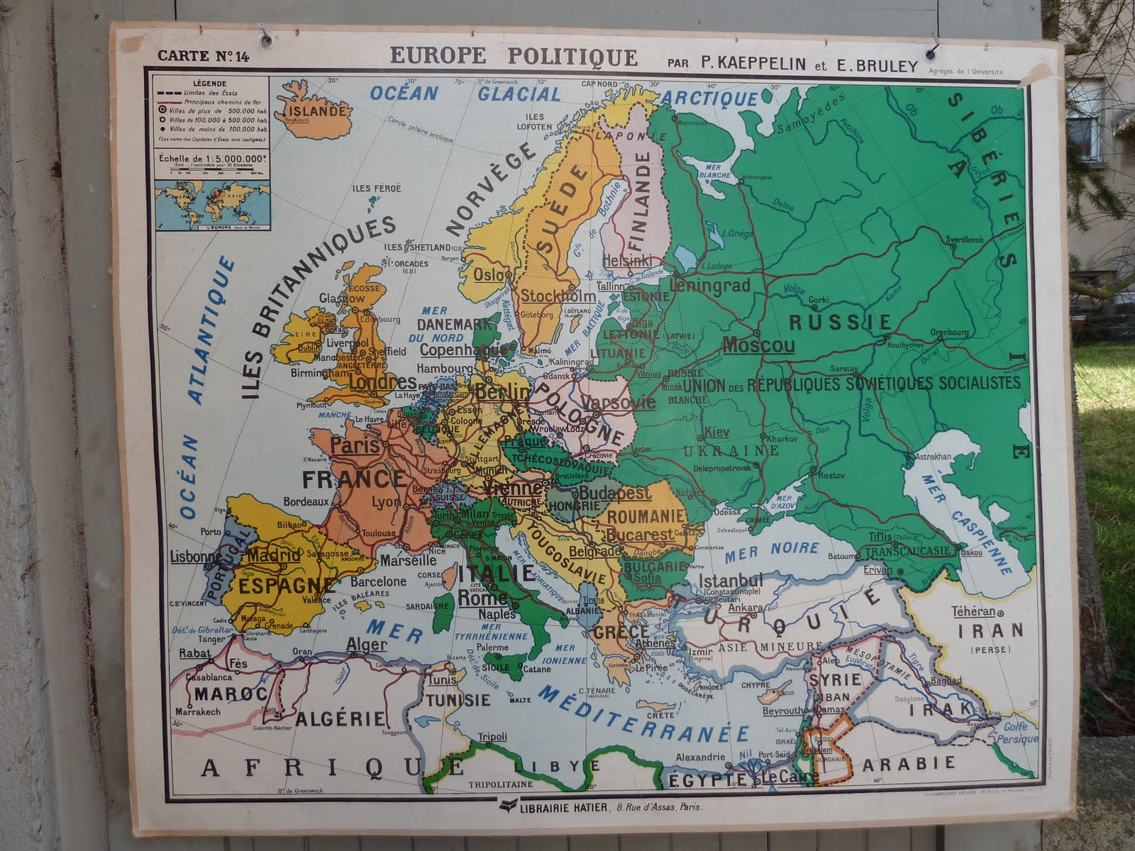 Vintage french posters botany animals anatomy old world maps from map of europe italy spain great britain sold gumiabroncs Gallery