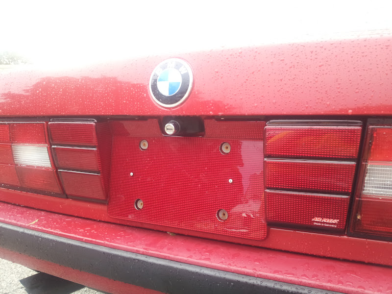 I M Looking For Bmw E30 Reflective Plate Filler