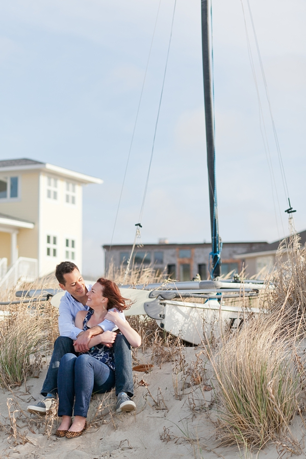 Chilly Virginia Beach Engagement By Amanda Manupella