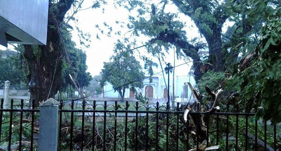 Effects of Typhoon Glenda felt in Catarman, Northern Samar