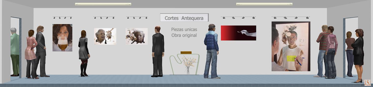 Sala de exposición virtual de Pinturas de María José Cortés Antequera