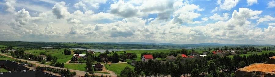 Sanktuarium Maryjne Kałków Godów - Golgota Wschodu - panorama
